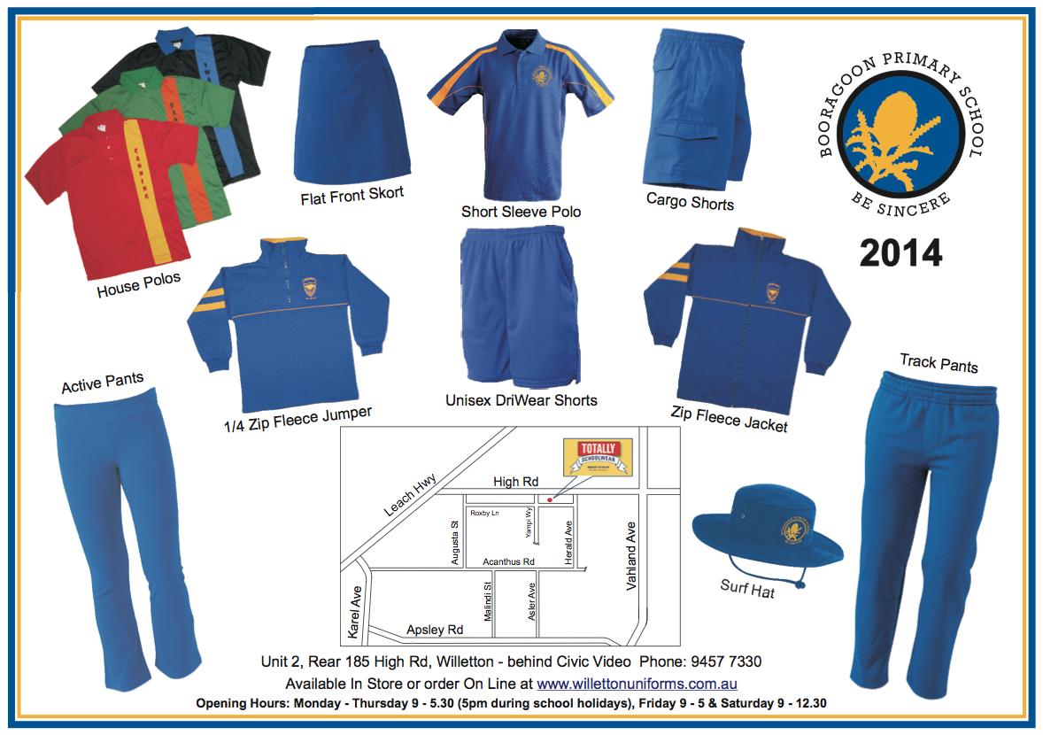 Uniforms 2014